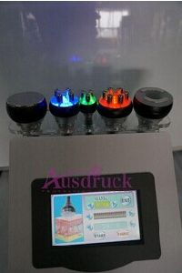 5in1 Ultrasonic Slimming Cavitation Vacuum RF Bipolar Tripolar Multipolar 3color Photon Weight Loss Beauty Equipment