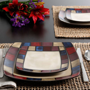 Better Quality Dinnerware Set Ceramic Plate Cup Dish Mosaic pictures & photos