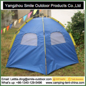 Sound Proof Doube Layers Family Camping Automatic Hexagon Tent pictures & photos