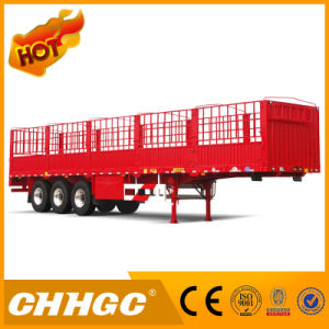 Chggc Top Quality Stake/Cargo Trailer with Gooseneck pictures & photos