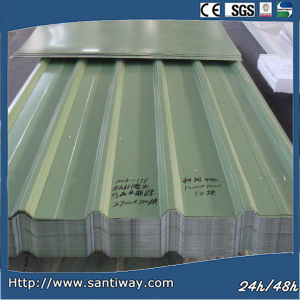 Corrugated Steel Sheet for Roofing Porcelain Tile pictures & photos