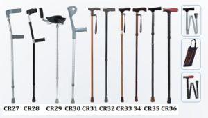 Disabled Walking Aluminum Elbow Crutch Stick Cane Sc-Cr27-36 pictures & photos