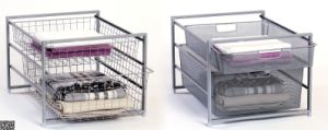 Cbw Metal Clothes Basket with Chrome Finish and Satin Nickel Surface Treatment (LL-03) pictures & photos