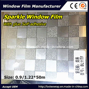 Decorative Sparkle Window Film 1.22m*50m pictures & photos