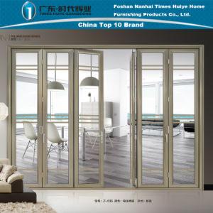 Aluminum/Aluminium Folding Door with Modern Design (model Z-035) pictures & photos