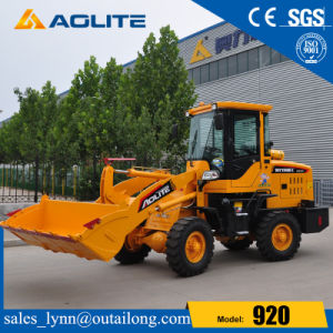 Construction Machinery Joystick Small Wheel Loader 1ton Loader for Sale pictures & photos