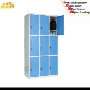 School/SPA/Gym Center Use Nine Door Clothes Steel Locker, Key Cabinet pictures & photos