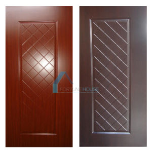 Dark Walnut and Sapeli Color Melamine Skin for Door pictures & photos