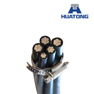 0.6/1kv PVC/XLPE/Overhead/Aluminum Conductor/Aerial Bundle Cableastm, BS, NFC, IEC, DIN Standard pictures & photos