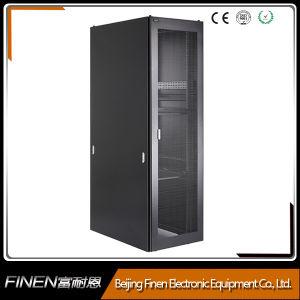 19 Inch 1000mm Deep Solid Cheaper Mesh Door Server Rack pictures & photos
