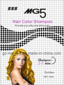 Mg 5 Hair Color Shampoo (Gloden) 30ml pictures & photos