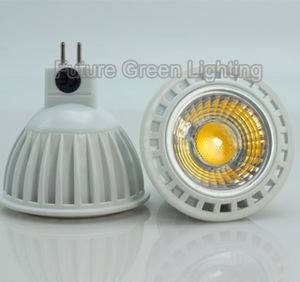 New GU10 MR16 5W Dimmable COB LED Bulb Light Spotlight pictures & photos