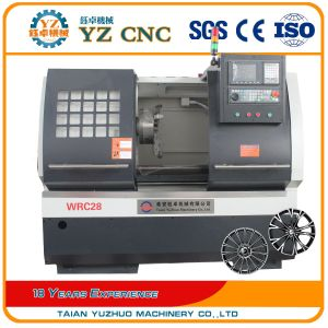 Wrc28 Alloy Wheel Rim Diamond Cutting Repair CNC Horizontal Lathe Machine pictures & photos
