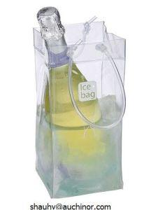 Travel Single Bottle PVC Wine Cooler Bag for Champagne Holder pictures & photos