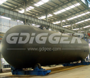 Asme Standard BV Certified Horizontal LPG Storage Tank pictures & photos