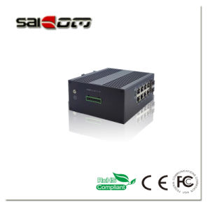 1000m Smart 2Gx+8Ge Industrial Switch for Security Alarm Solution pictures & photos