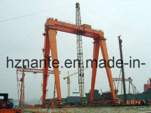Shipbuilding Gantry Crane QME150t-30T-60T-50M-35M pictures & photos
