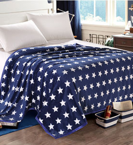 Sr-F170213-27 High Quality Two Side 100% Polyester Printed Flannel Fabric pictures & photos