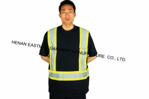 High Visibility Orange Industrial Workwear T65/C35t-Shirt pictures & photos