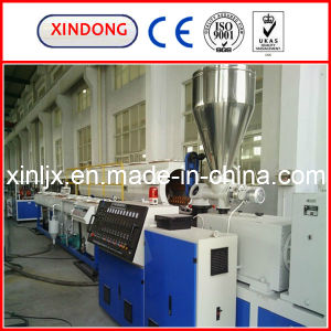 Sjz Conical Twin Screw Plastic Extruder pictures & photos