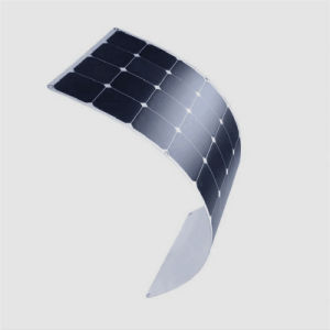 OEM Full Certified EXW Price 100W Semi Flexible Solar Panel 18V pictures & photos