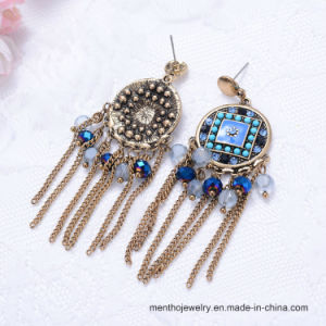 Fashion Imitation Jewelry Diamond Women Tassel Earrings pictures & photos