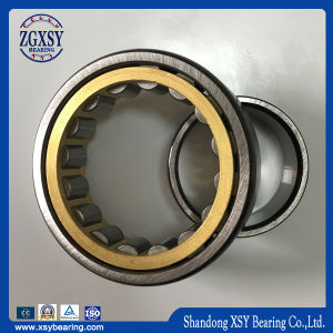 High Capacity Polyamide/Nylon/Brass Cage Nu Series Cylindrical Roller Bearing pictures & photos