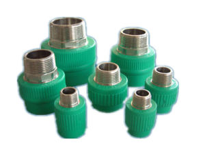 Plastic Fitting Mould-Male Adapter with Copper