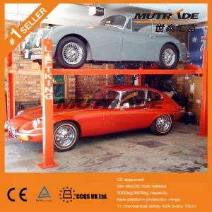 4 Post Garage Car Parking Lift Price pictures & photos