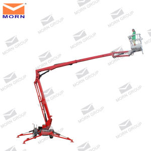 Super Quality Hot Sale 14m Cherry Picker Hydraulic Platform Tow Truck pictures & photos