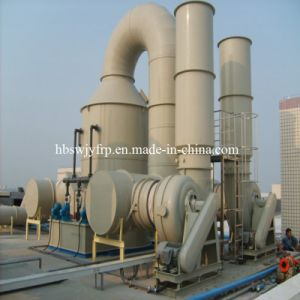 FRP GRP Dust Collector Wet Scrubber Tower pictures & photos