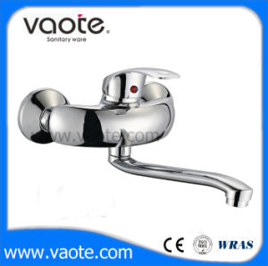 Classic Common Single Handle Sink Wall Mixer/Faucet (VT10902) pictures & photos