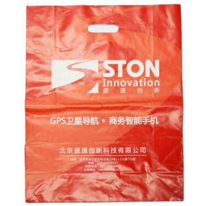 Premium Fashion Printed Die Cut Plastic Bags for Garments (FLD-8577) pictures & photos