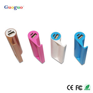 Mini Holder Power Bank 2600mAh, Guoguo Innovative New Products, Portable Powerbank 2600