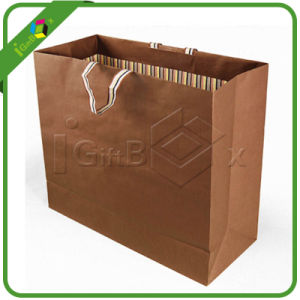 Kraft Packaging Paper Bags for Shopping pictures & photos