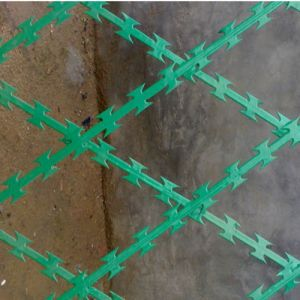 PVC Coated Welded Concertina Razor Barbed Wire Fence pictures & photos