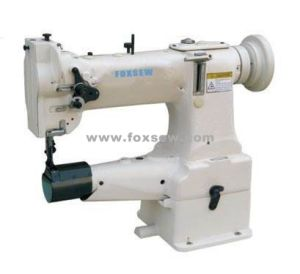 Single Needle Cylinder Bed Lockstitch Sewing Machine for Shoes pictures & photos