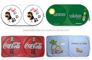 Promotional Car Front Windshield Sunshade with Customized Design pictures & photos