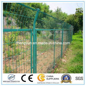 PVC Chain Link Fence Chain Link Temporary Fence Wire Mesh Door pictures & photos