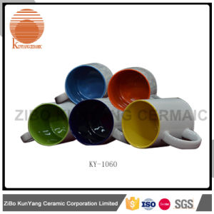 Color Inside Color Rim and Color Handle Mug pictures & photos