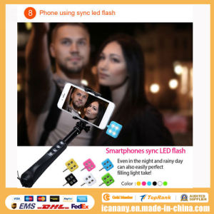 2015 Factory Wholesale Selfie Stick and Tripod with Zoom Button, Wholesale Rk88e Monopod pictures & photos