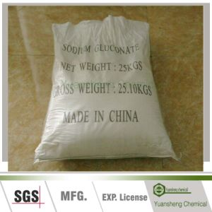 Cement Additives C6h11o7na Sodium Gluconate pictures & photos