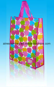 Recycled Colorful PP Woven Bag Low Price Raw Material Laminated Shopping Bag pictures & photos