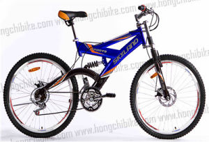 Alloy Frame MTB Bike High Bumper Full Suspension Bicycle (HC-MTB-19335) pictures & photos