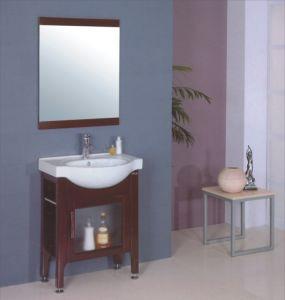 Ceramic Sink Bathroom Cabinet (B-199) pictures & photos