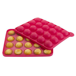 Non Toxic Food Grade Ball Silicone Cake Pop Mould pictures & photos