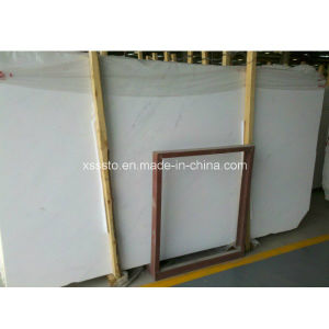 High Quality Natural Ariston White Marble Slab for Sale pictures & photos