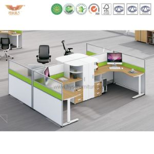 Modern Office Furniture L Shape Office Partition (H15-0824) pictures & photos