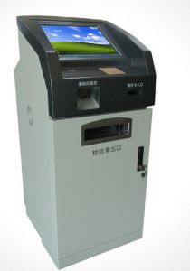 15inch Customize Hospital Use Kiosk Manufacturer, Kiosk with Photo Printing Function pictures & photos