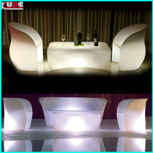 Table and Chair Set Ocean Shell Furniture Lighting up Furniture pictures & photos